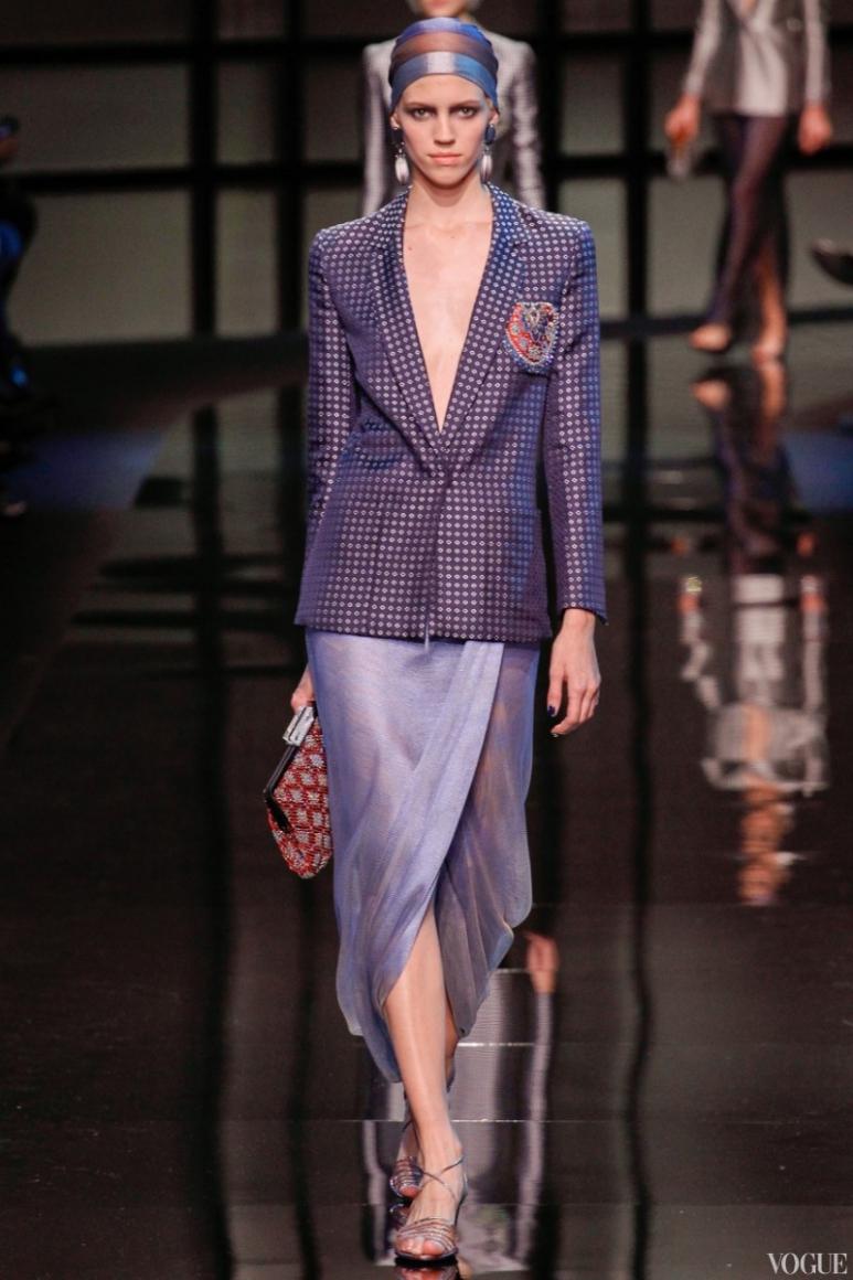 Armani Priv? Couture весна-лето 2014 #50