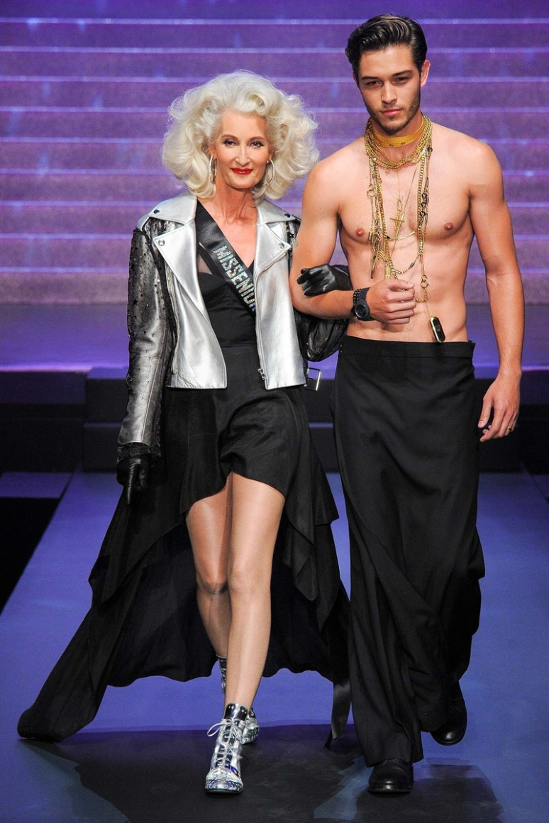 Jean Paul Gaultier весна-лето 2015 #31