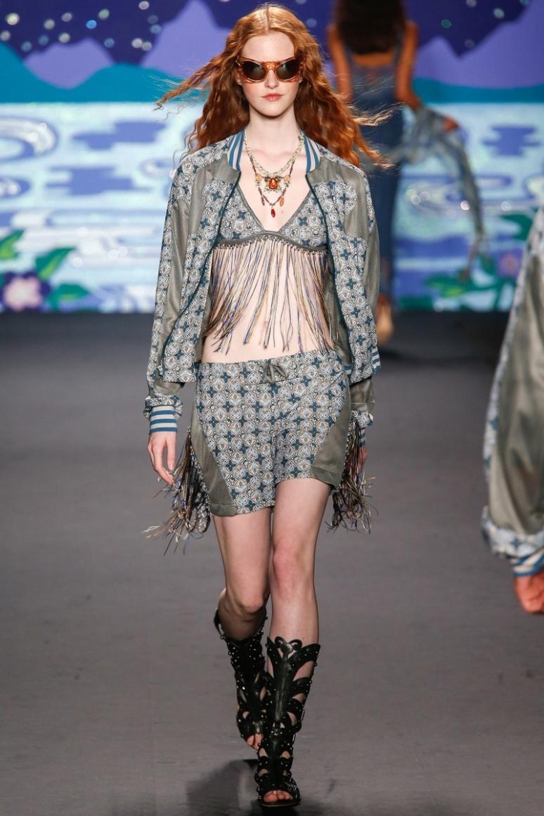 Anna Sui весна-лето 2014 #21