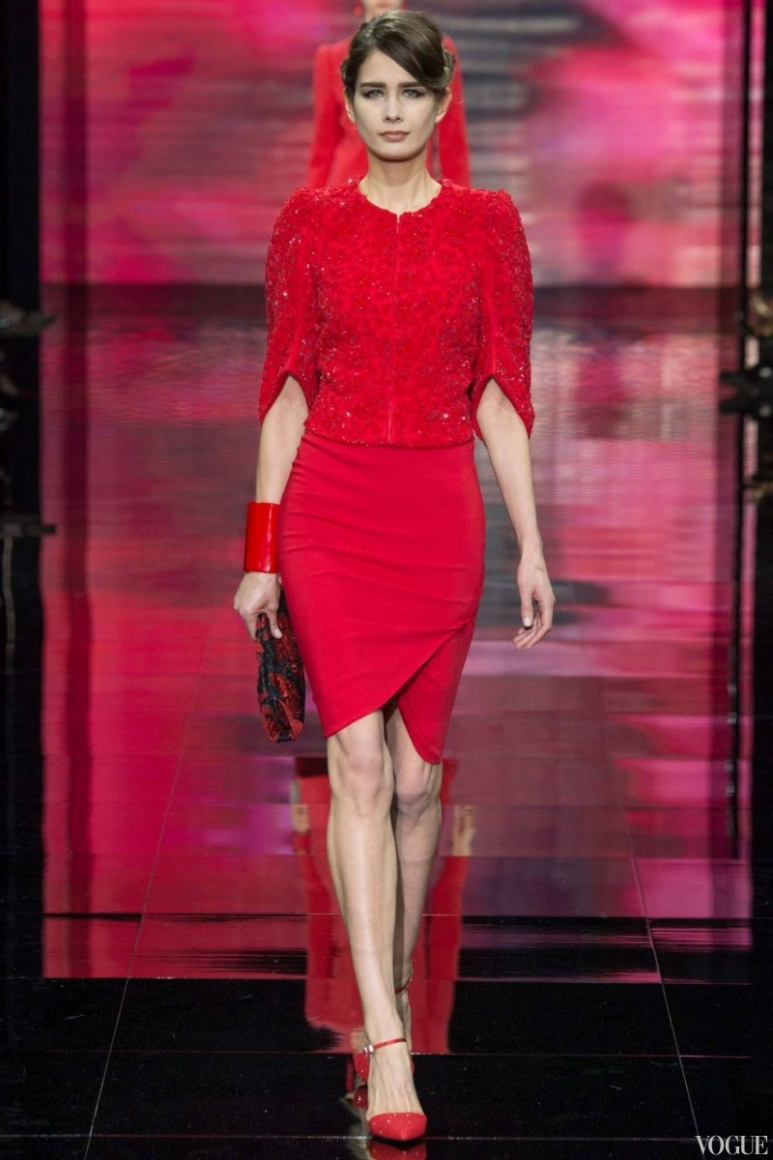 Armani Priv? Couture осень-зима 2014/2015 #57