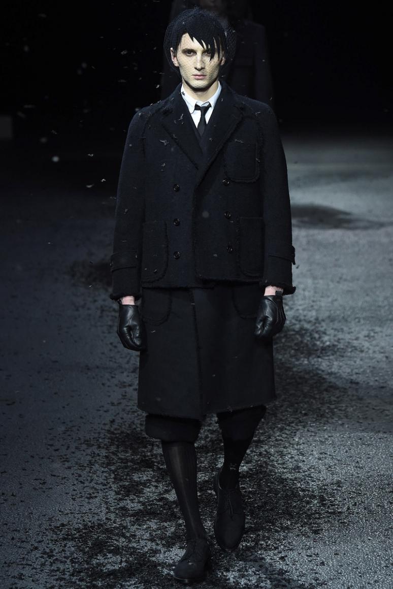 Thom Browne Menswear осень-зима 2015/2016 #4
