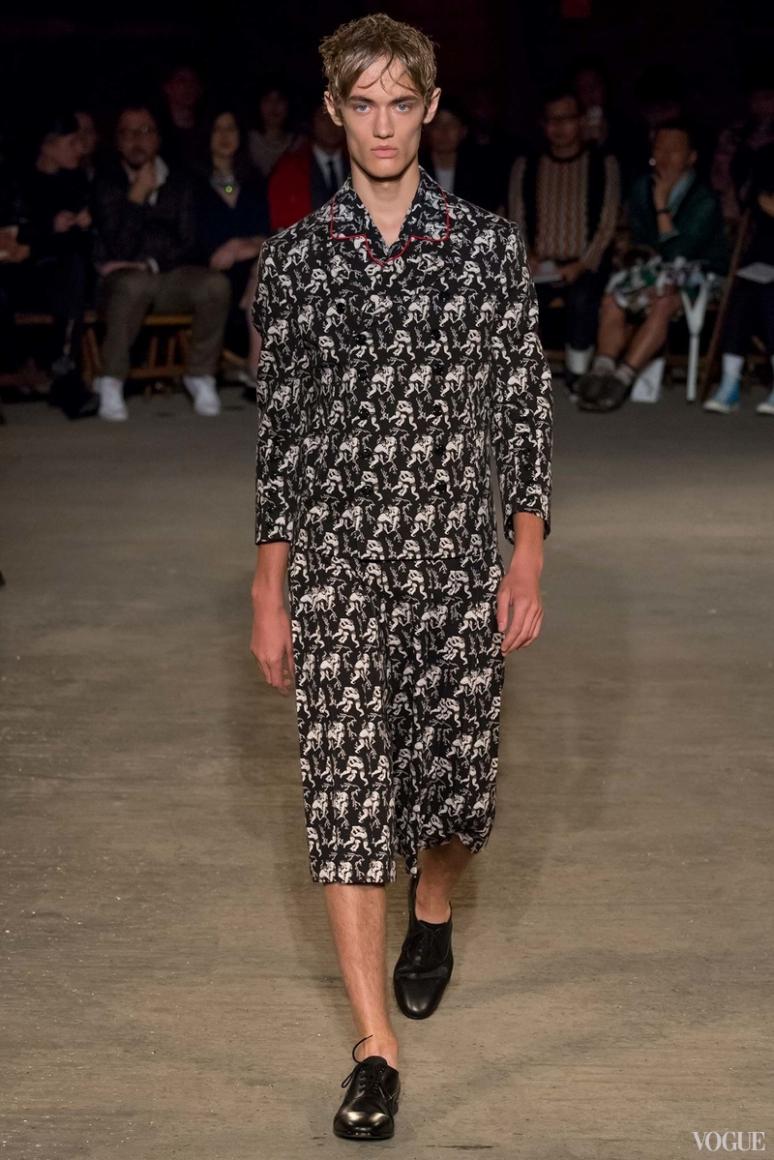 Alexander McQueen Menswear весна-лето 2016 #16