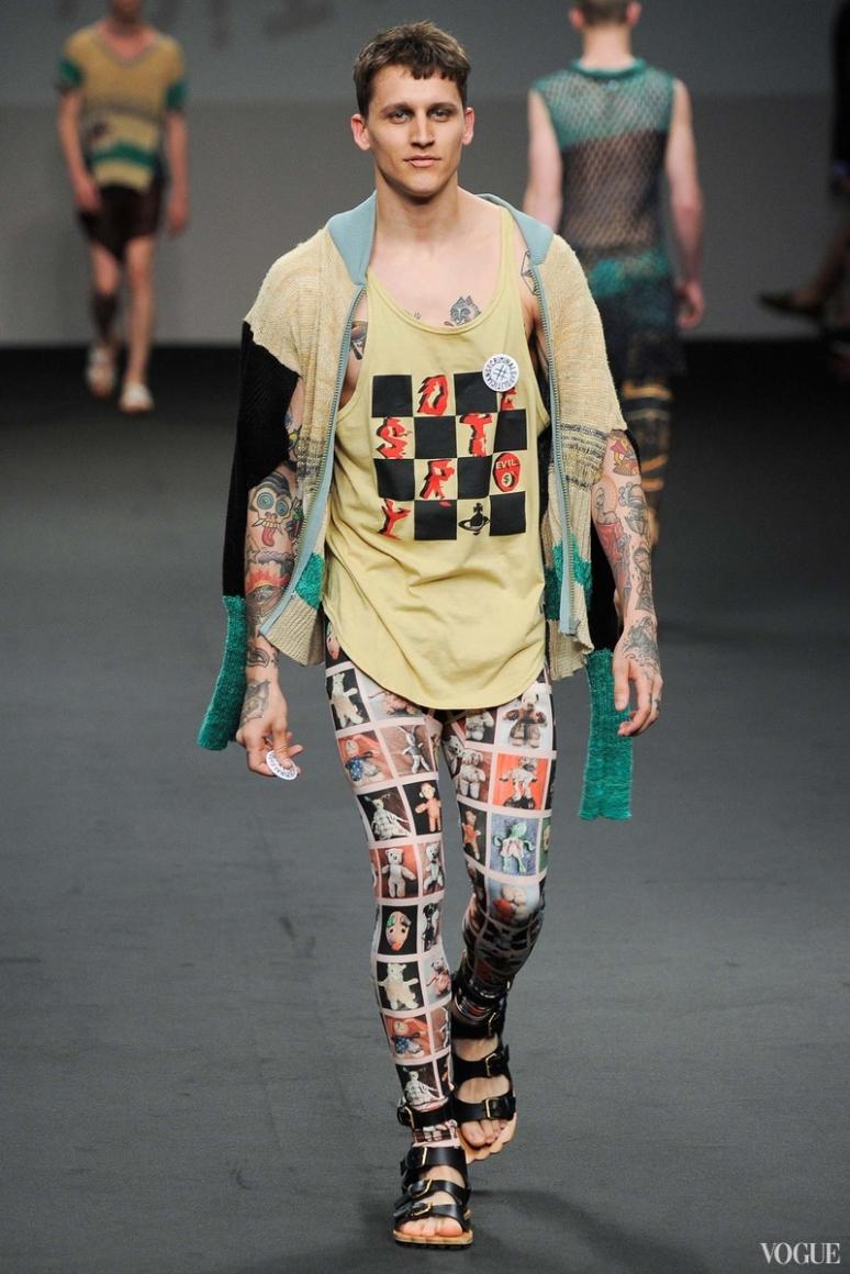 Vivienne Westwood Menswear весна-лето 2016 #34