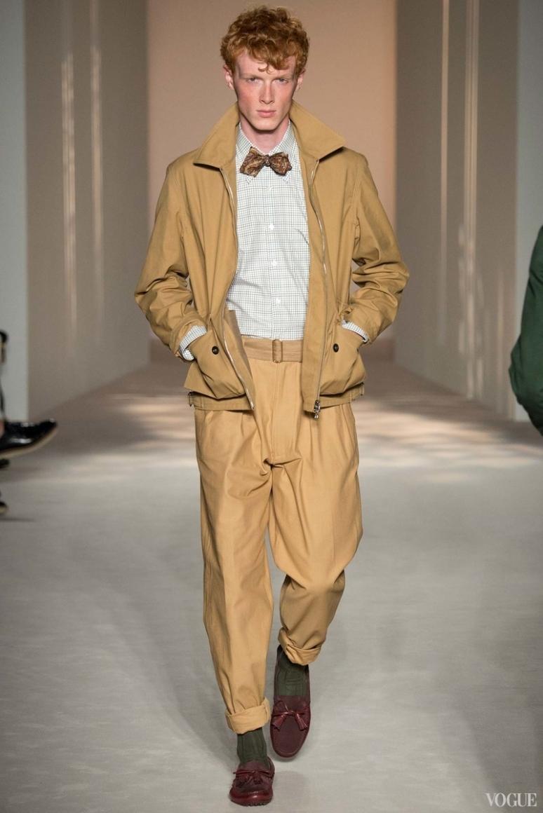 Dunhill Menswear весна-лето 2016 #7