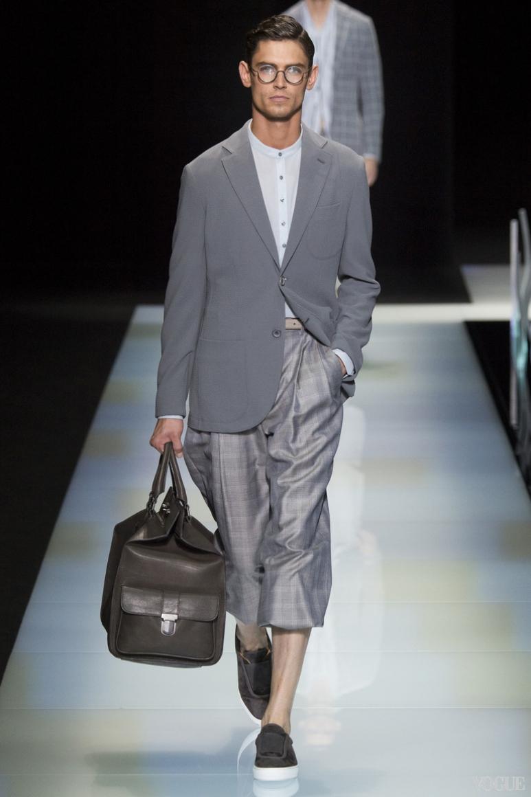 Giorgio Armani Menswear весна-лето 2016 #43