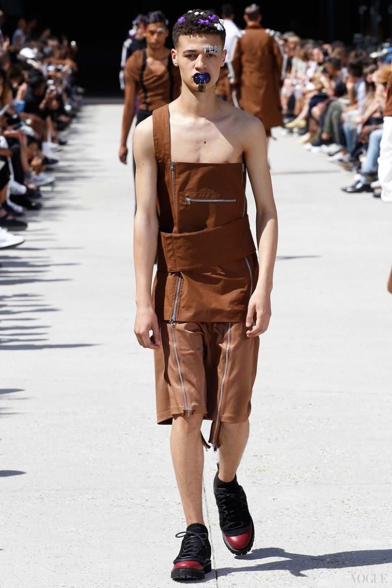 Hood by Air Menswear весна-лето 2016 #7