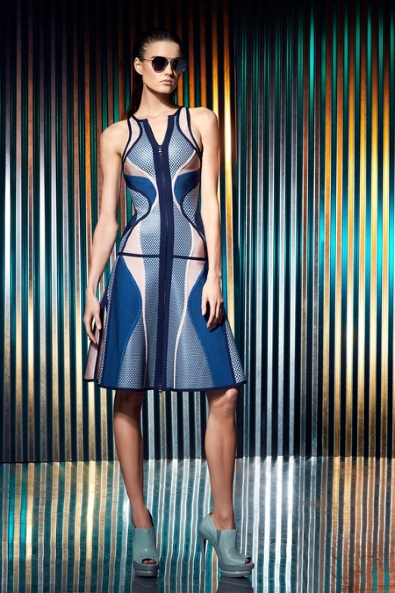 Herve Leger by Max Azria Resort 2014 #38