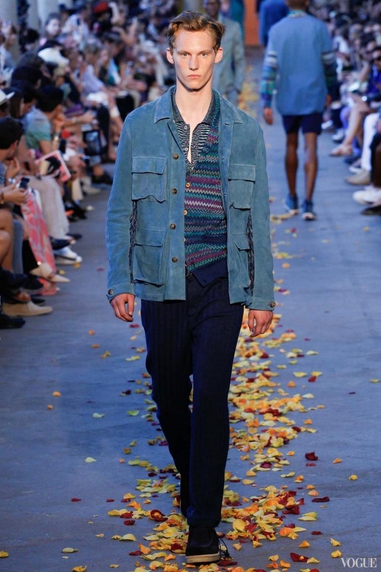 Missoni Menswear весна-лето 2016 #18