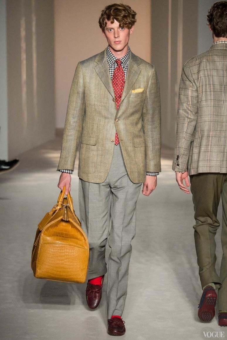 Dunhill Menswear весна-лето 2016 #22