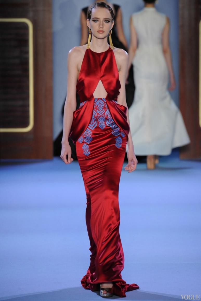 Ulyana Sergeenko Couture весна-лето 2014 #8