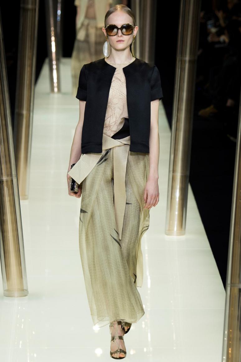 Armani Priv? Couture весна-лето 2015 #61