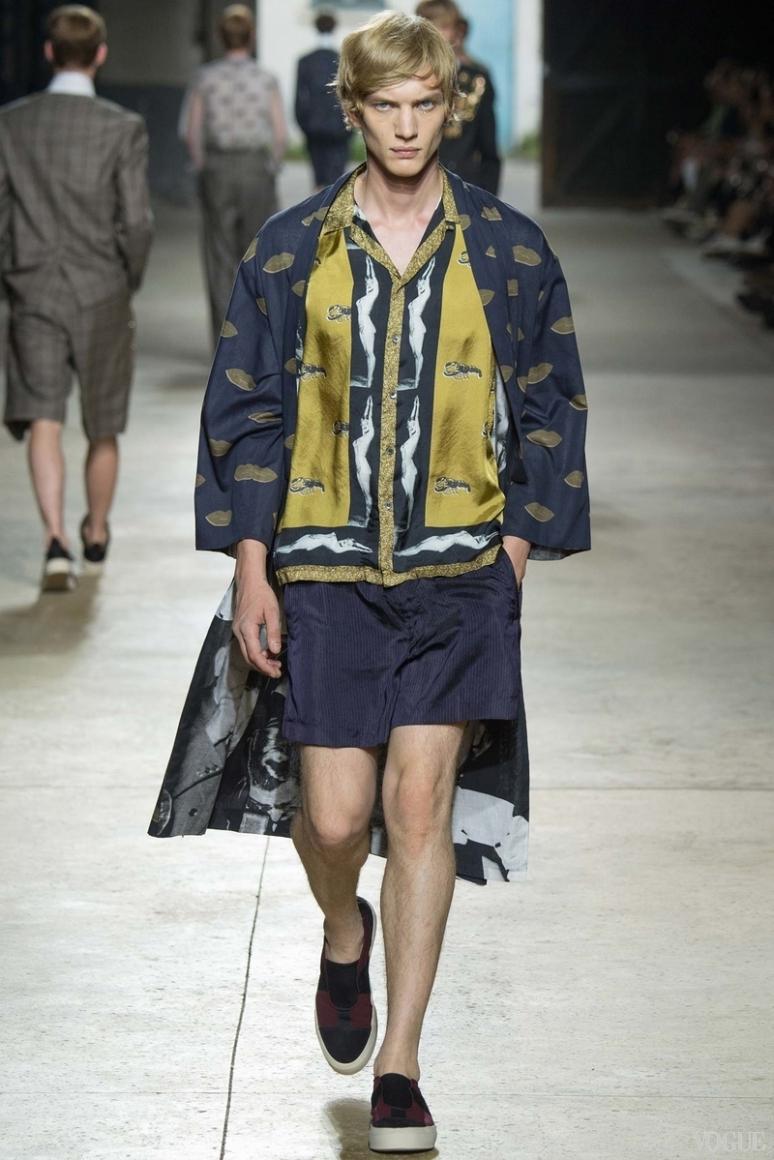 Dries van Noten Menswear весна-лето 2016 #19