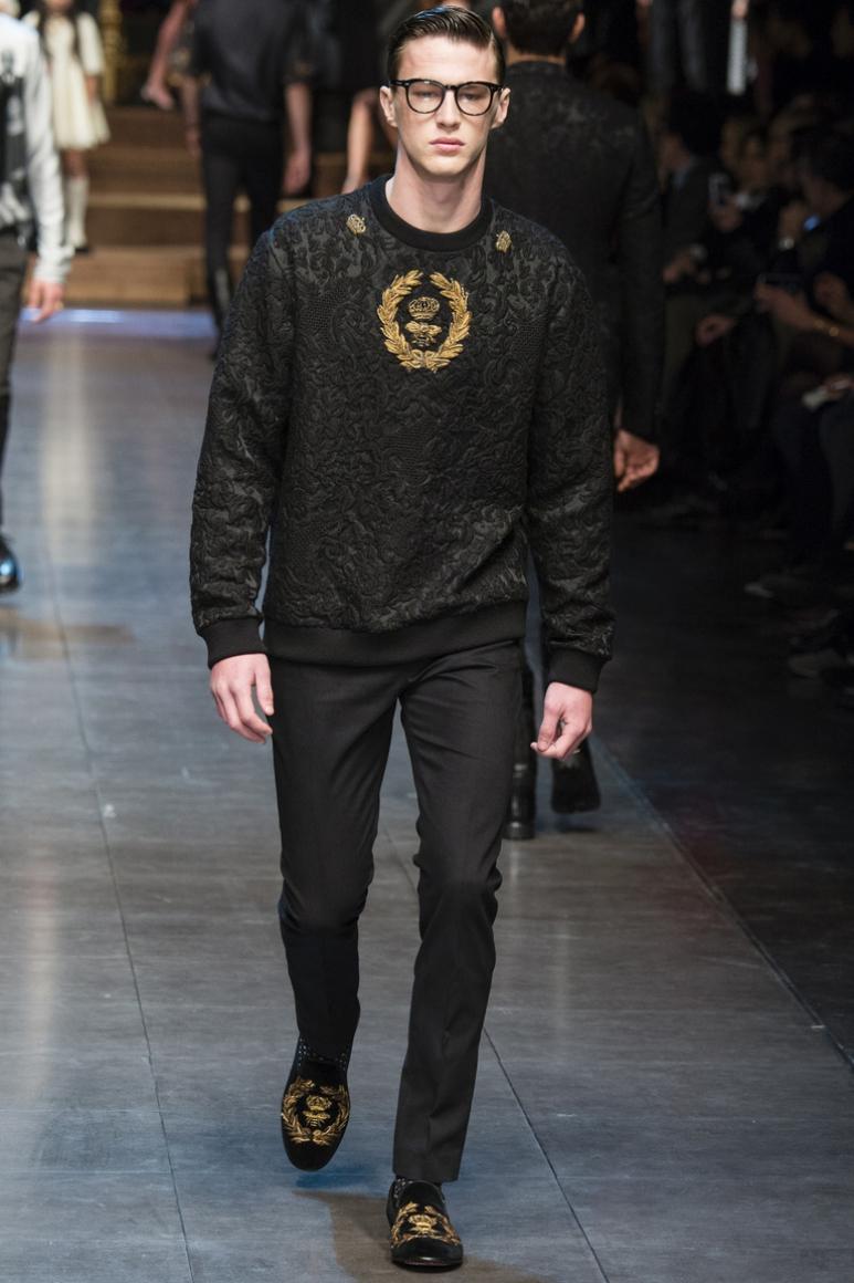 Dolce & Gabbana Menswear осень-зима 2015/2016 #71