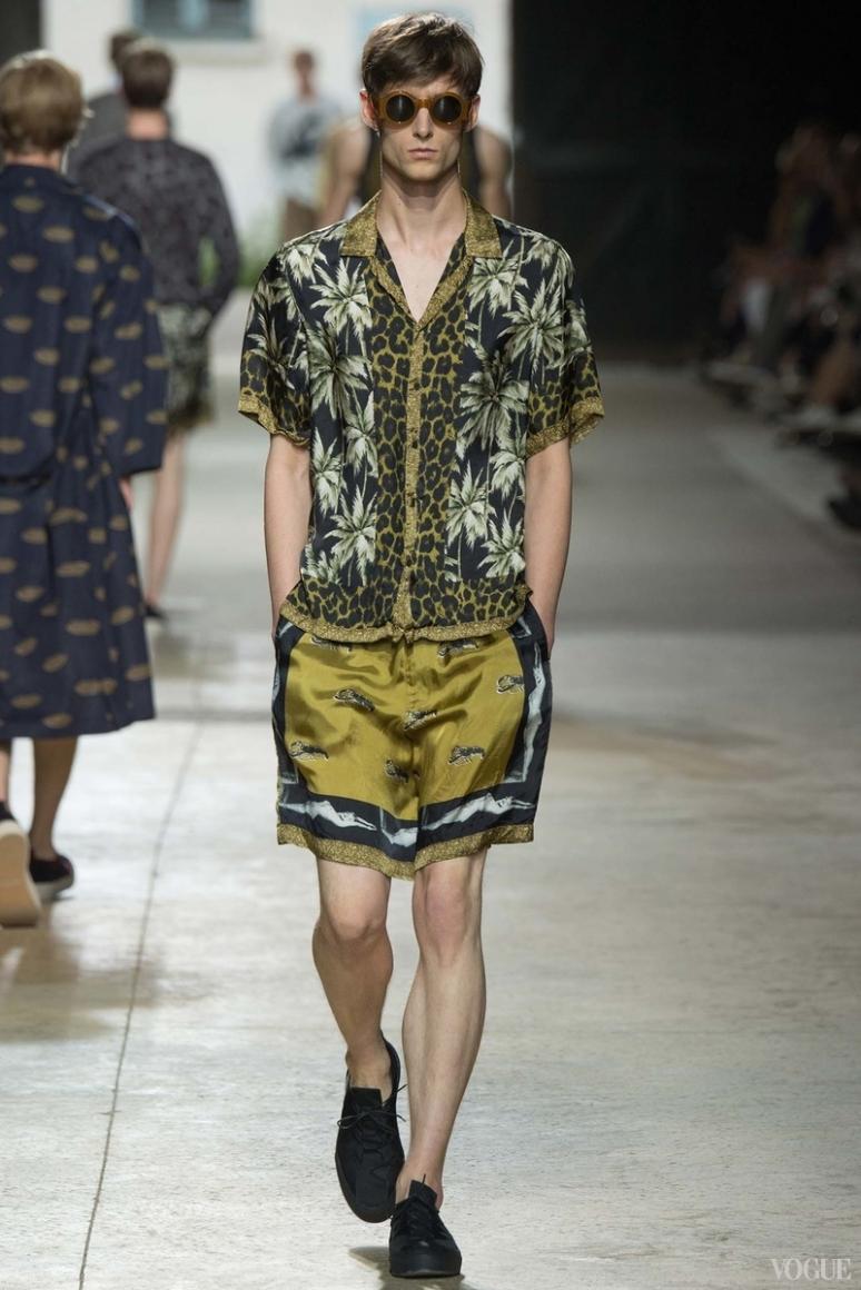 Dries van Noten Menswear весна-лето 2016 #17