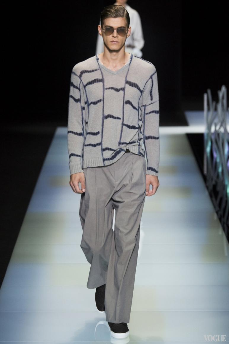 Giorgio Armani Menswear весна-лето 2016 #34