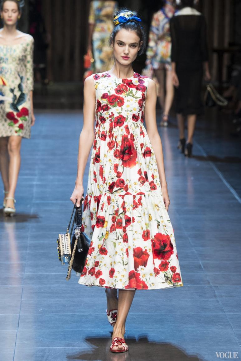 Dolce & Gabbana весна-лето 2016 #28