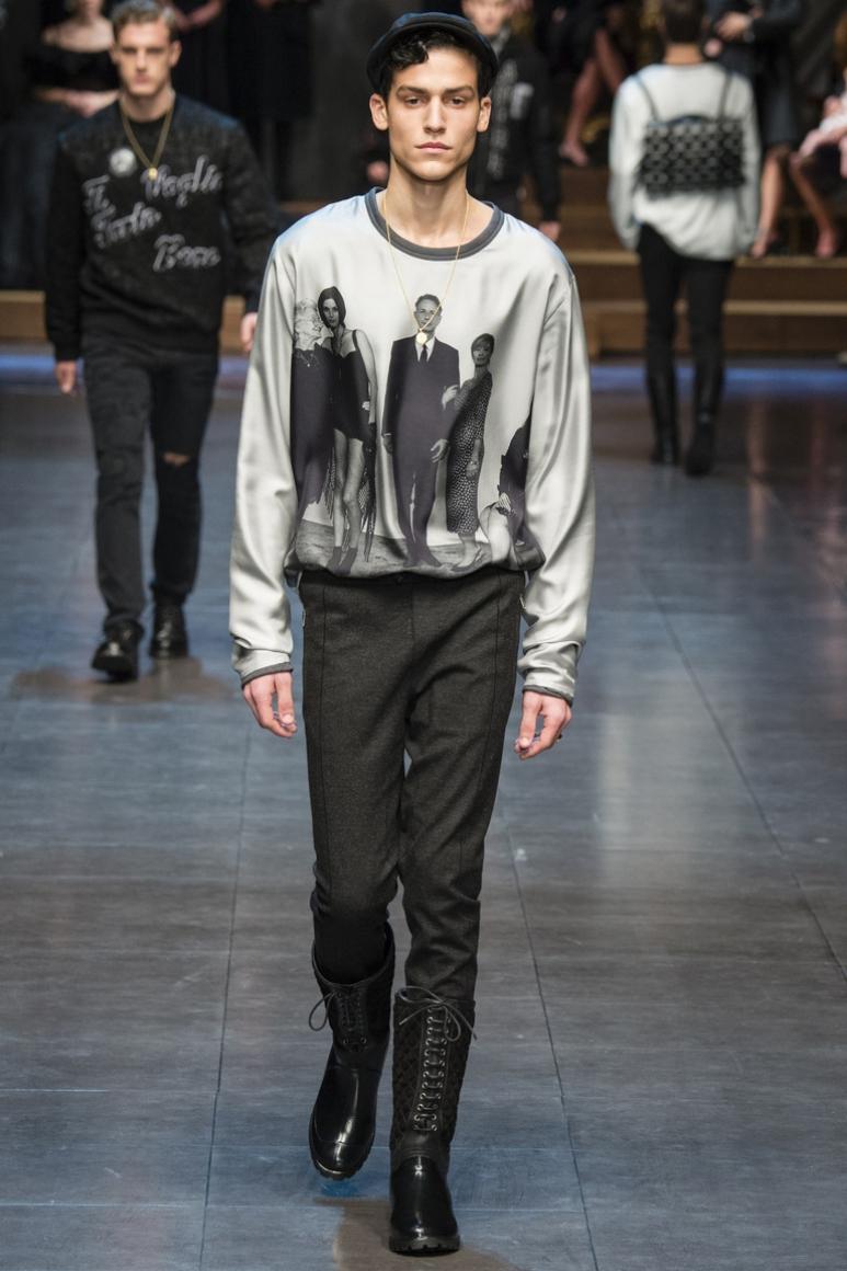 Dolce & Gabbana Menswear осень-зима 2015/2016 #10