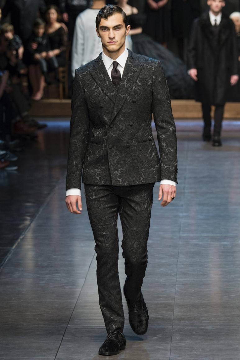Dolce & Gabbana Menswear осень-зима 2015/2016 #81