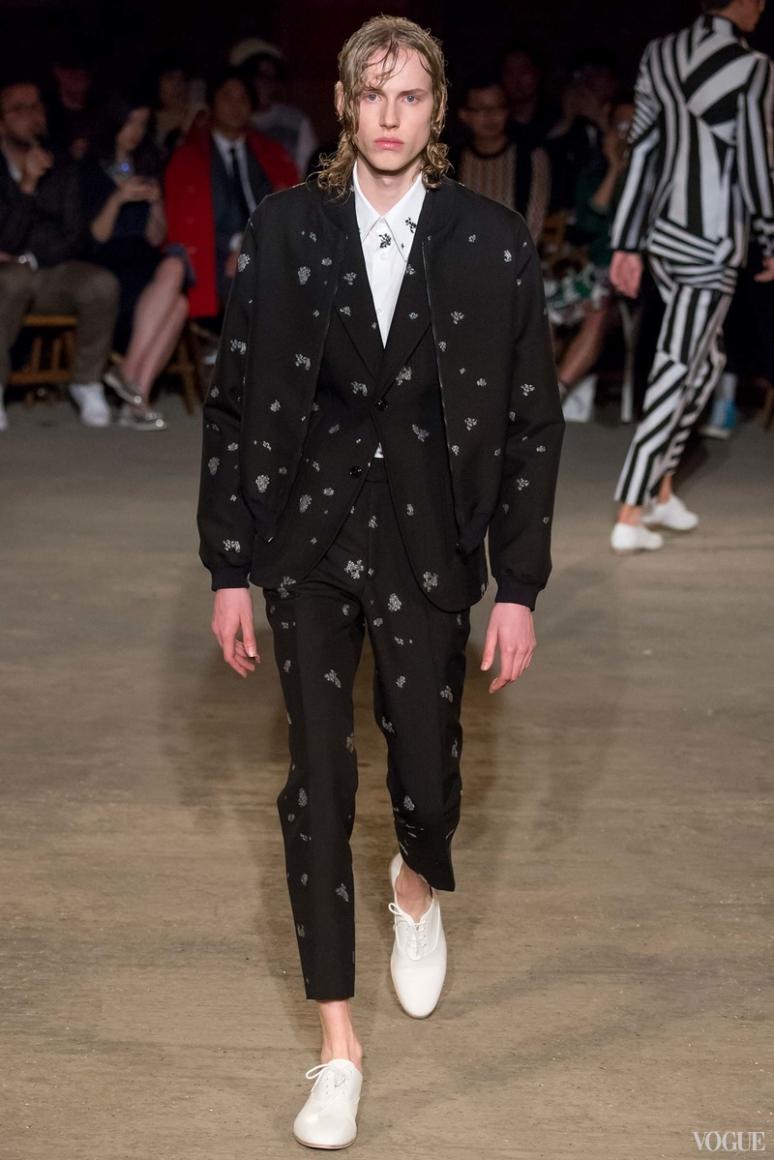 Alexander McQueen Menswear весна-лето 2016 #9