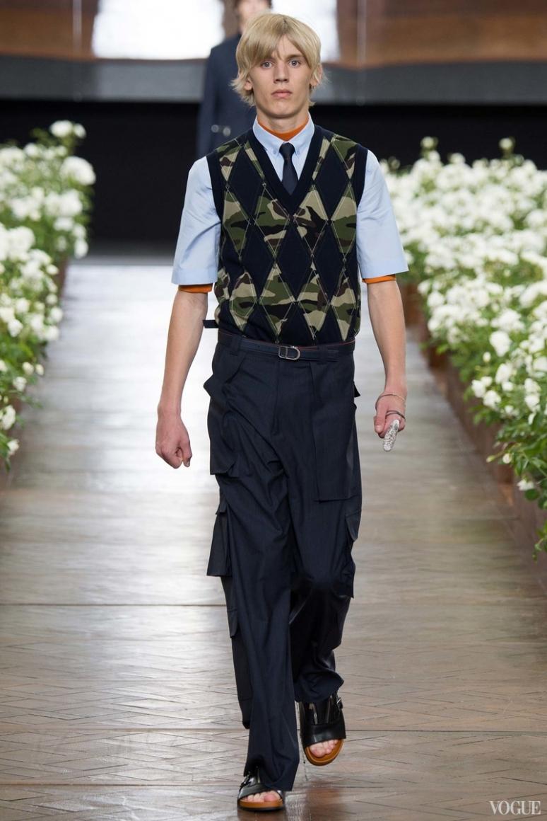 Dior Homme Menswear весна-лето 2016 #44