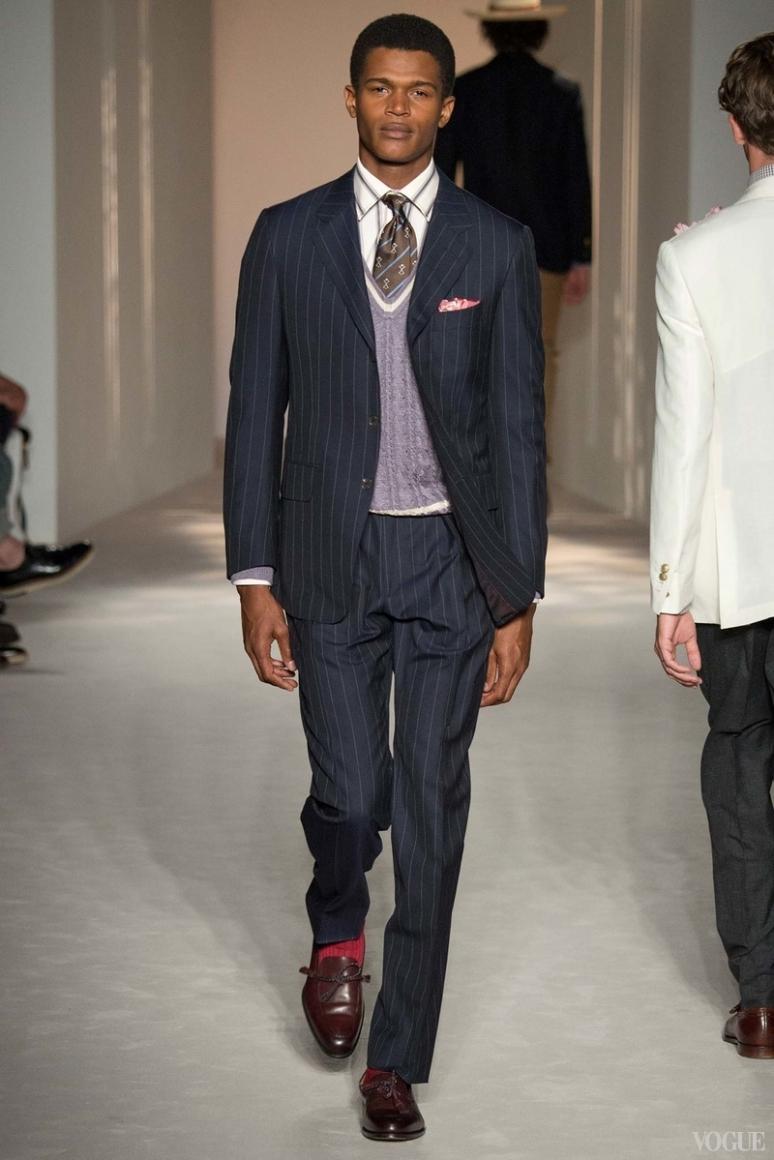 Dunhill Menswear весна-лето 2016 #28