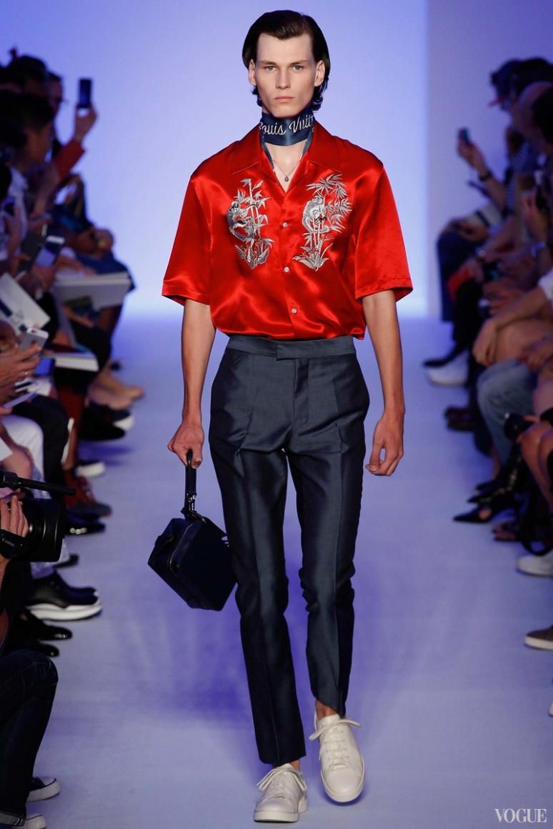 Louis Vuitton Menswear весна-лето 2016 #38