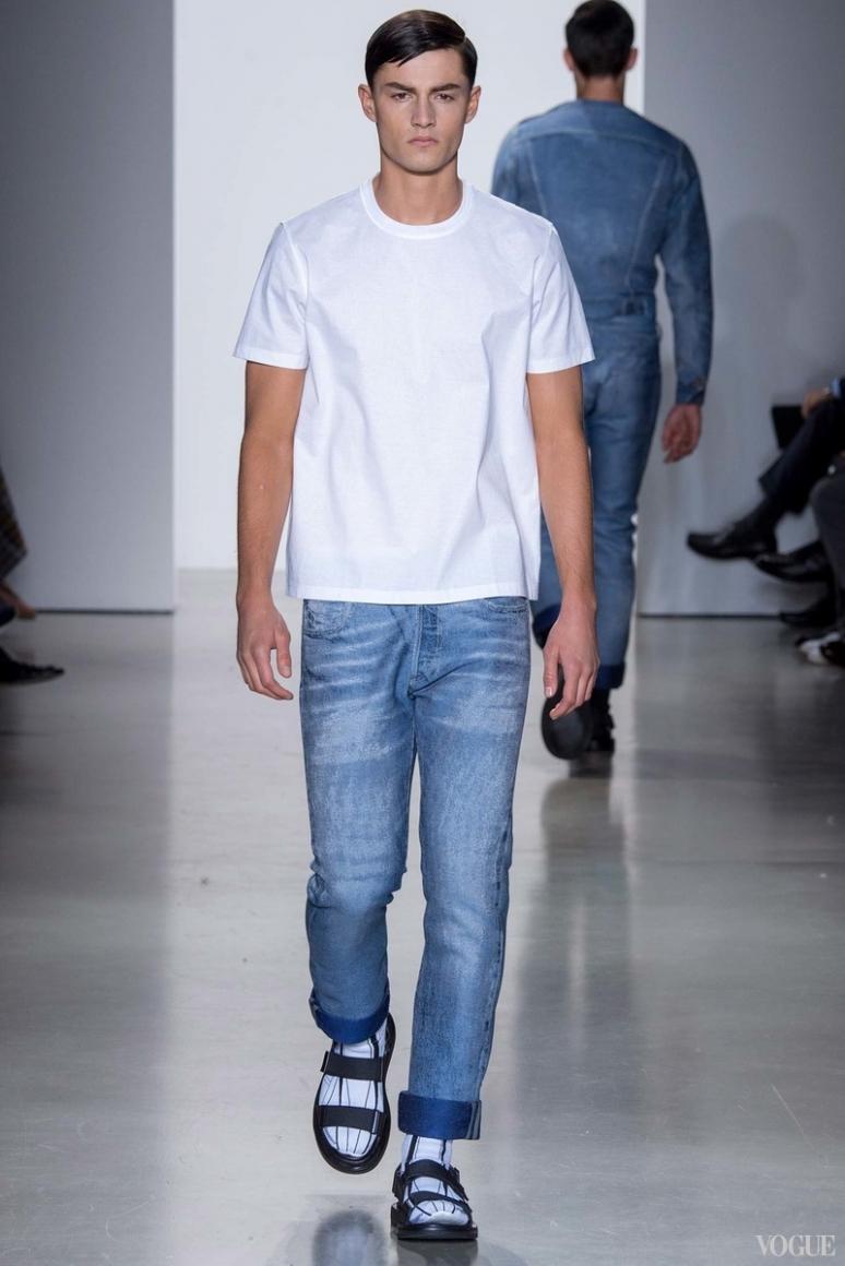 Calvin Klein Menswear весна-лето 2016 #12