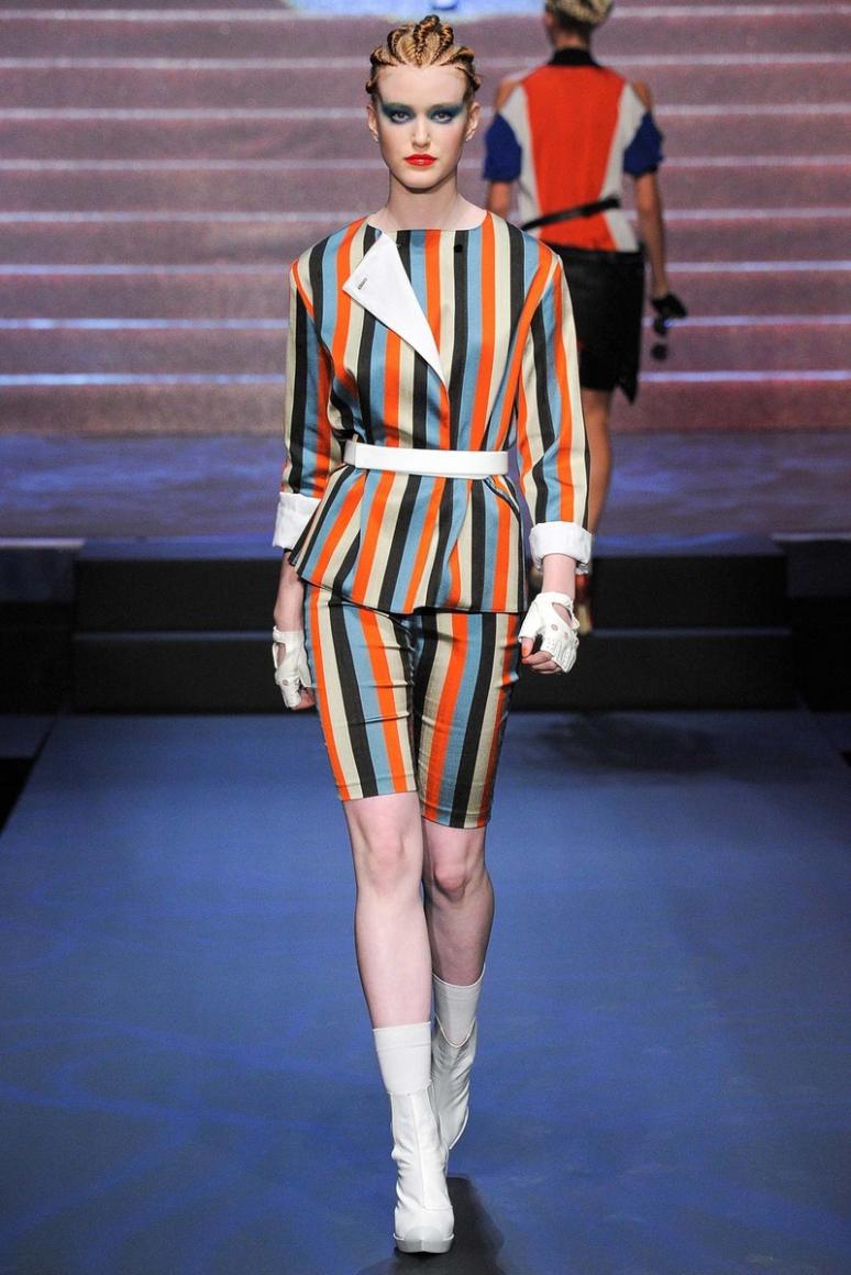 Jean Paul Gaultier весна-лето 2015 #64