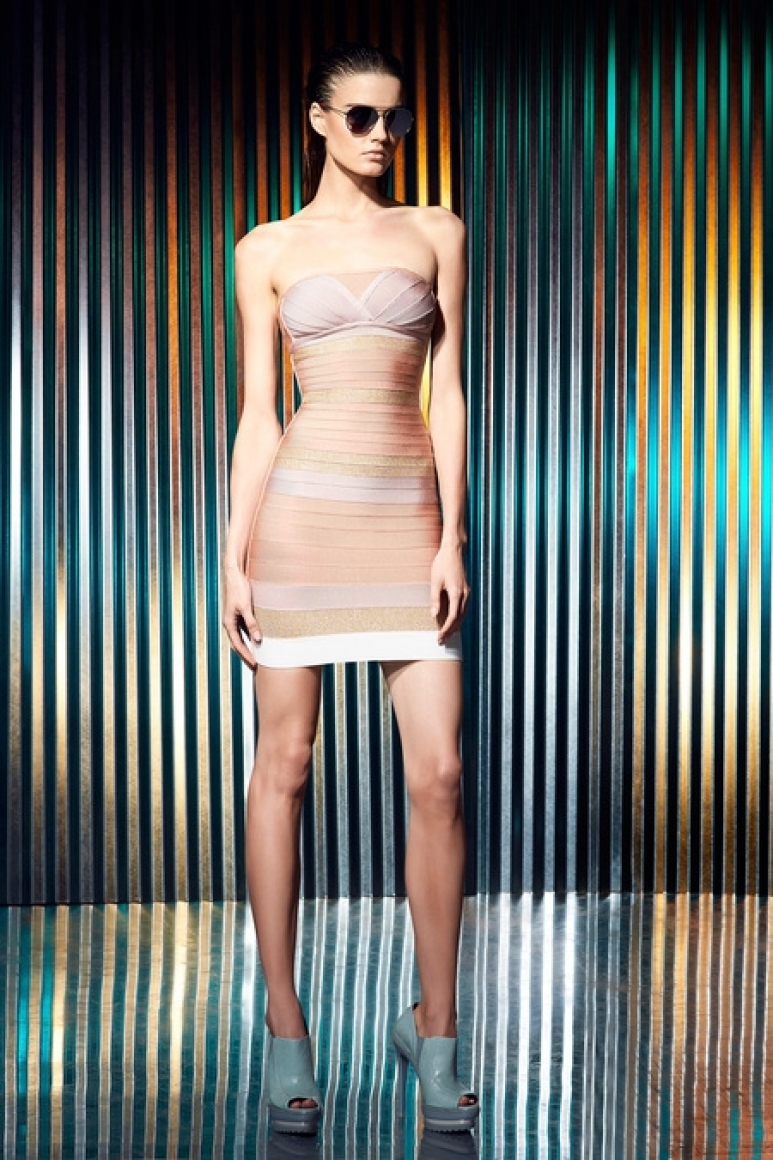 Herve Leger by Max Azria Resort 2014 #28