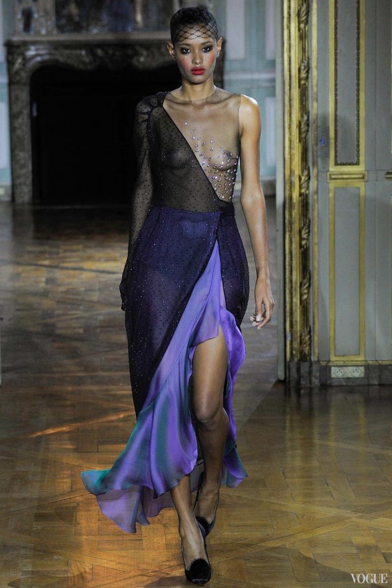 Ulyana Sergeenko Couture осень-зима 2015/2016 #9