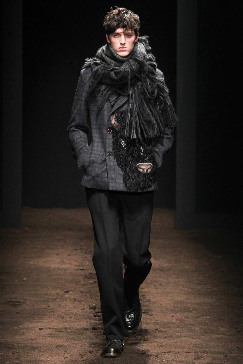 Salvatore Ferragamo Menswear осень-зима 2015/2016 #11