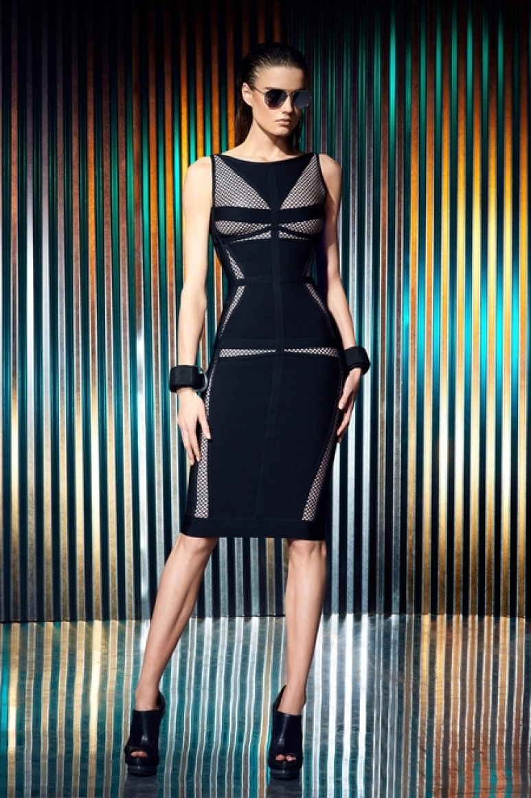 Herve Leger by Max Azria Resort 2014 #9