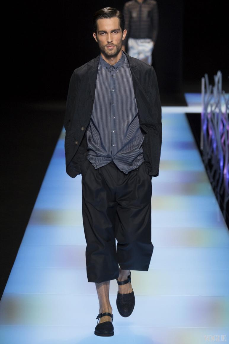 Giorgio Armani Menswear весна-лето 2016 #13