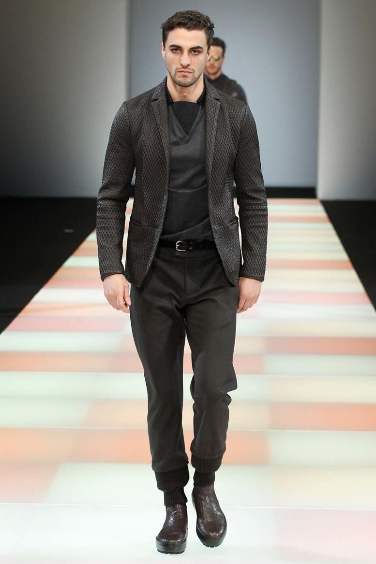 Emporio Armani Menswear осень-зима 2015/2016 #39