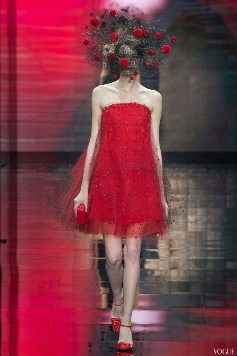 Armani Priv? Couture осень-зима 2014/2015 #19