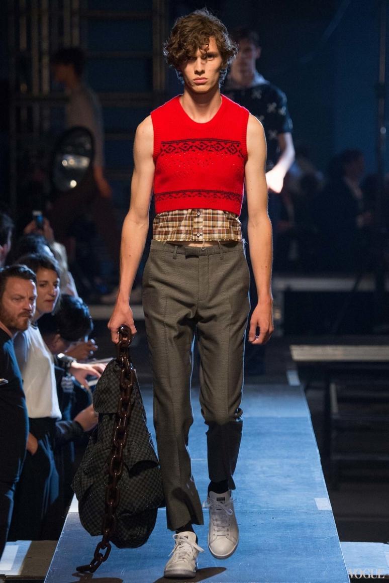 Raf Simons Menswear весна-лето 2016 #13