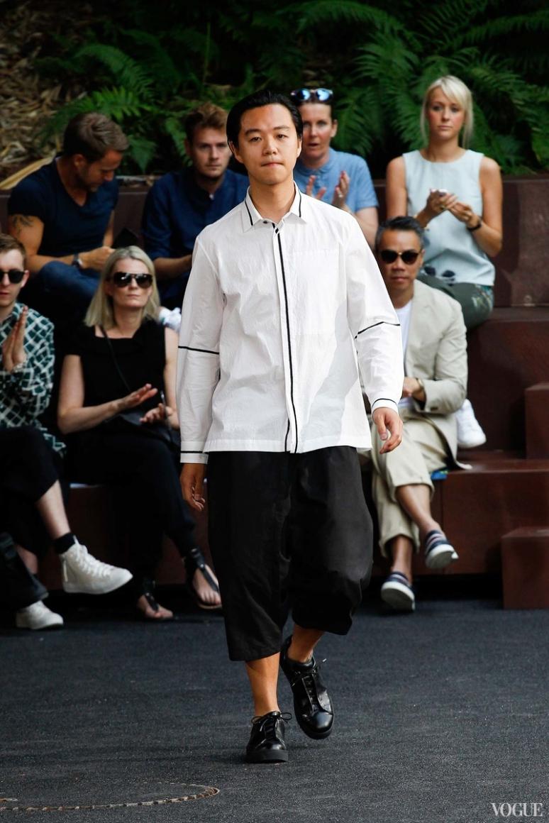 Issey Miyake Menswear весна-лето 2016 #1