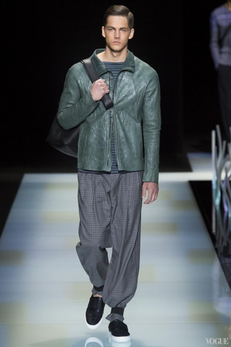 Giorgio Armani Menswear весна-лето 2016 #47