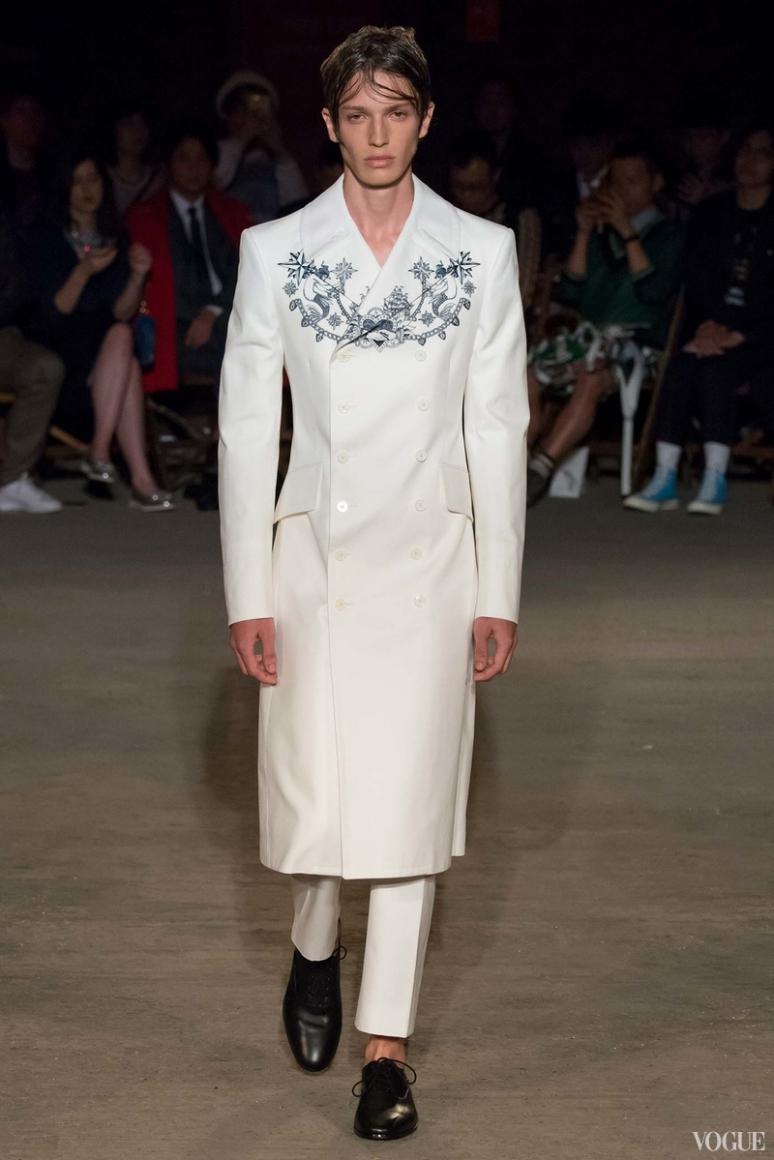 Alexander McQueen Menswear весна-лето 2016 #34