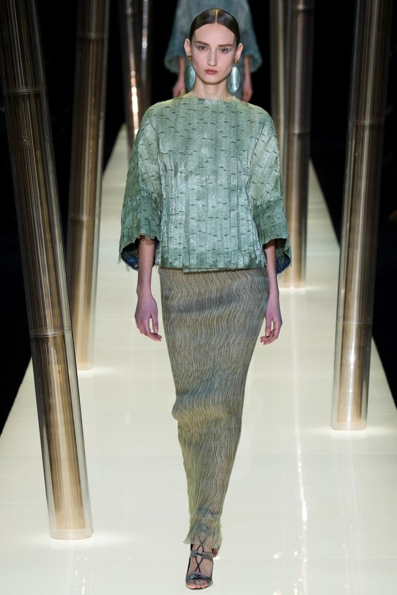 Armani Priv? Couture весна-лето 2015 #51