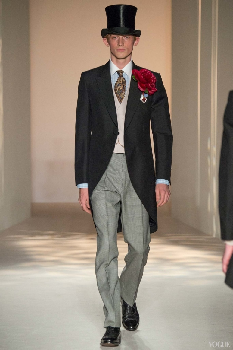 Dunhill Menswear весна-лето 2016 #34