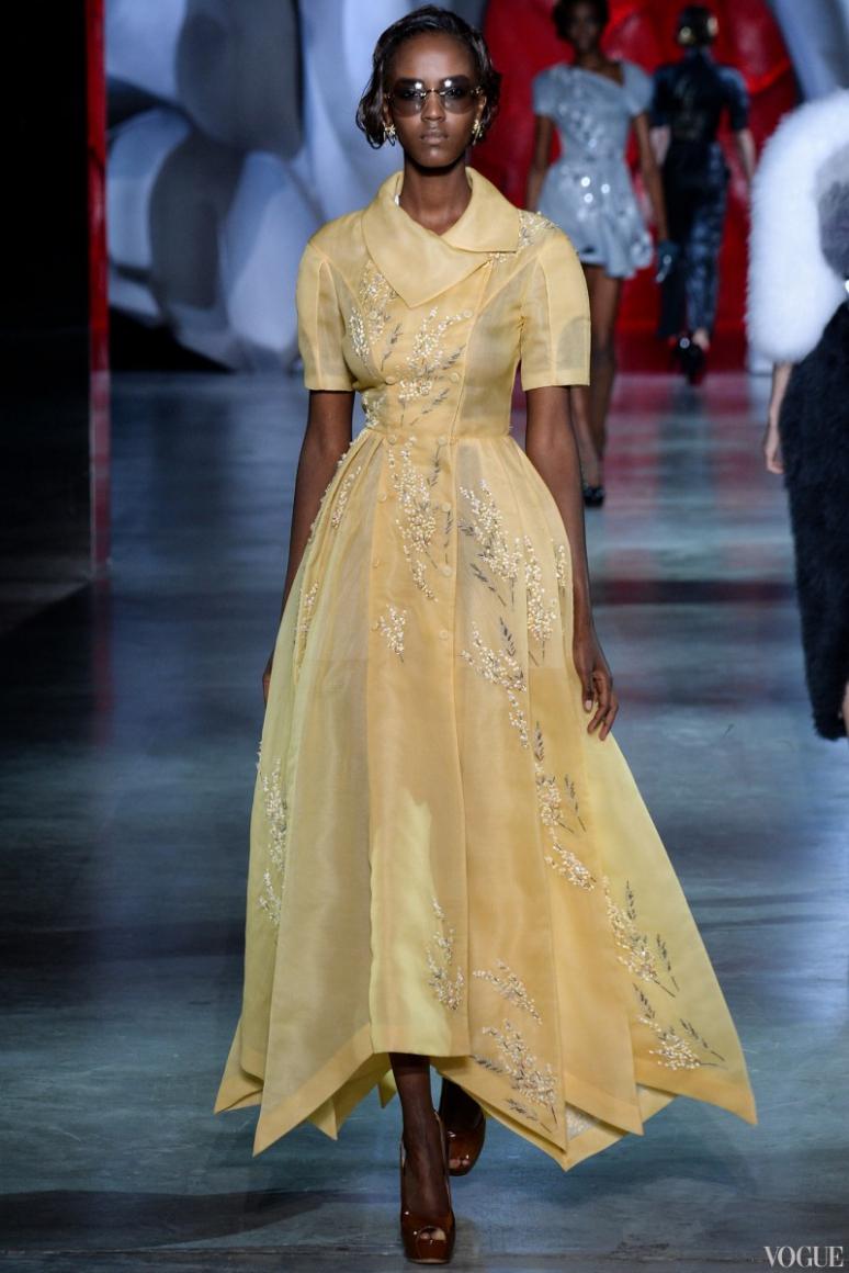 Ulyana Sergeenko Couture осень-зима 2014/2015 #9