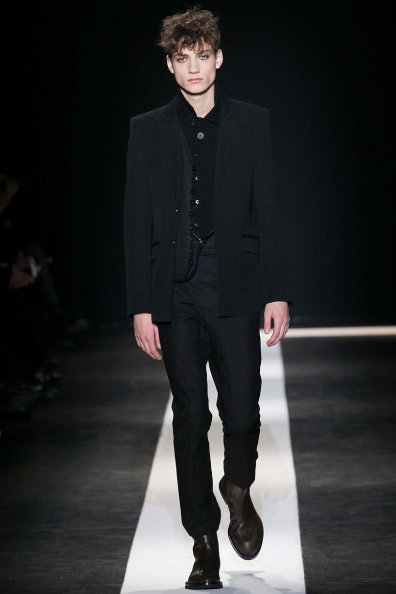Ann Demeulemeester Menswear осень-зима 2015/2016 #28