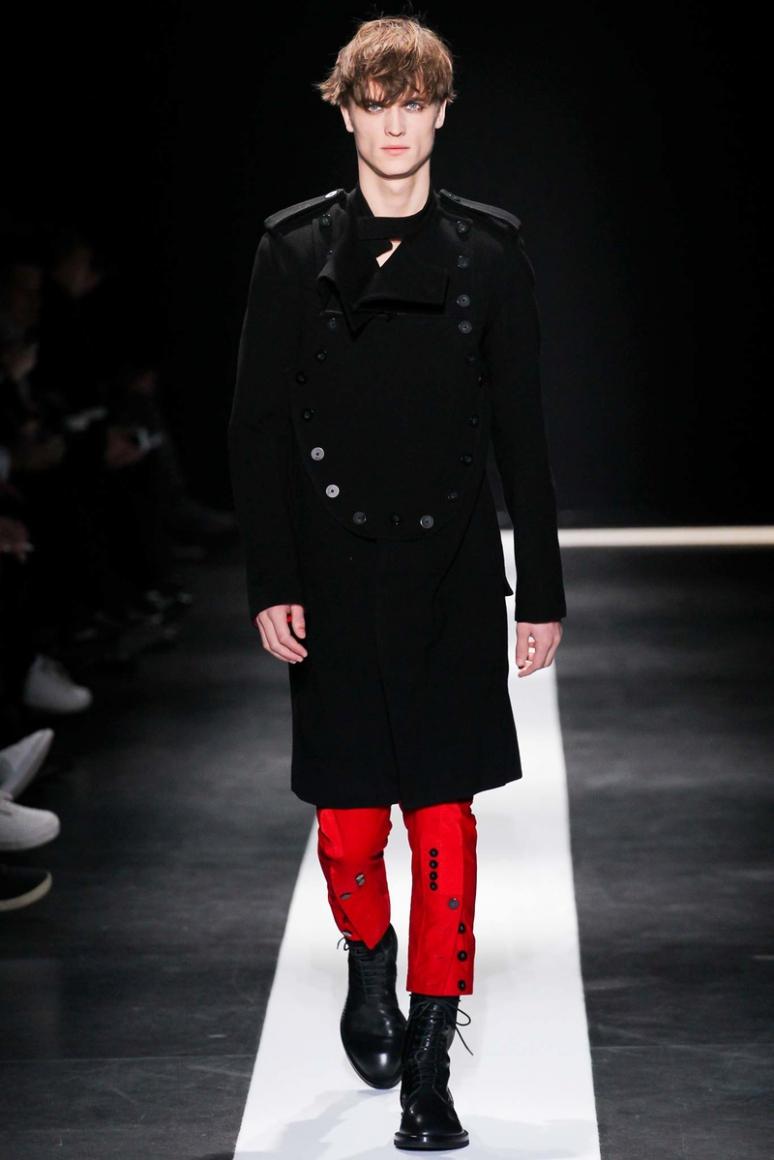 Ann Demeulemeester Menswear осень-зима 2015/2016 #12