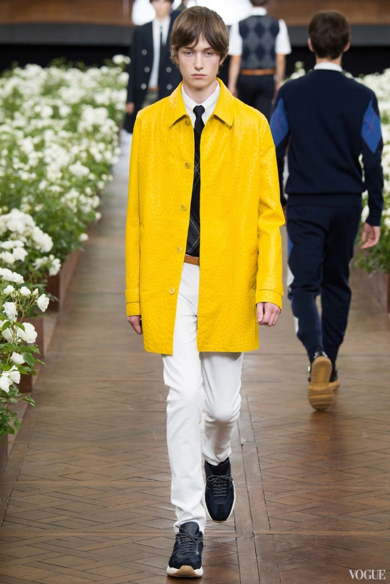 Dior Homme Menswear весна-лето 2016 #29