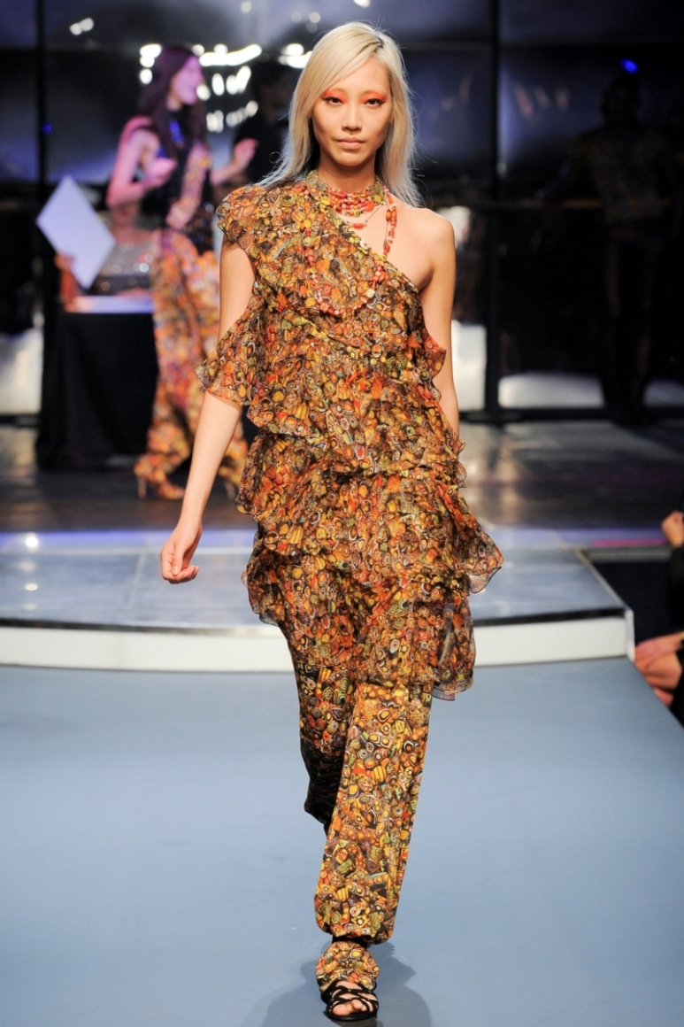 Jean Paul Gaultier весна-лето 2014 #10