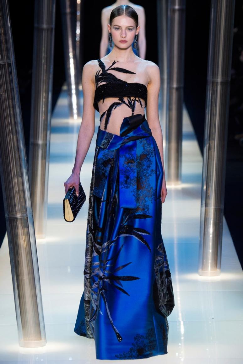 Armani Priv? Couture весна-лето 2015 #4
