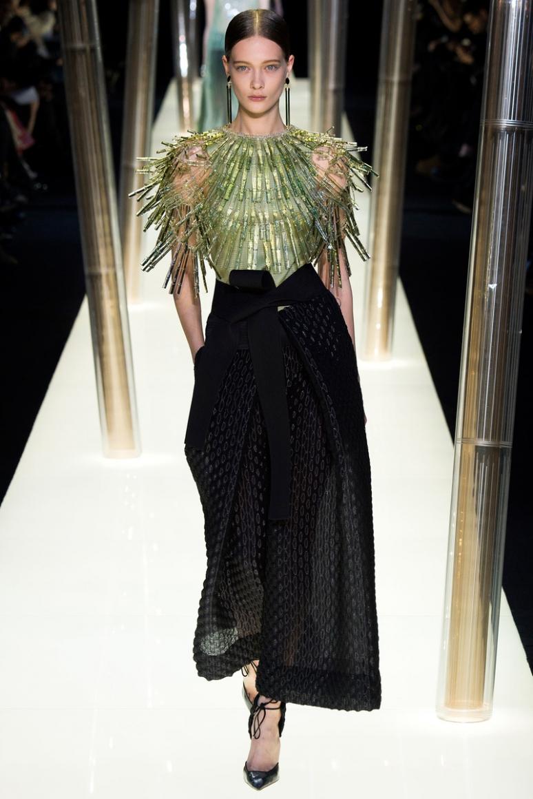 Armani Priv? Couture весна-лето 2015 #44