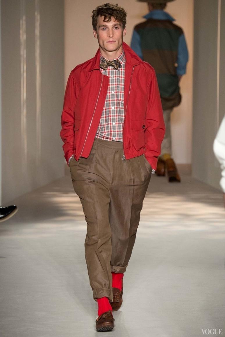 Dunhill Menswear весна-лето 2016 #9
