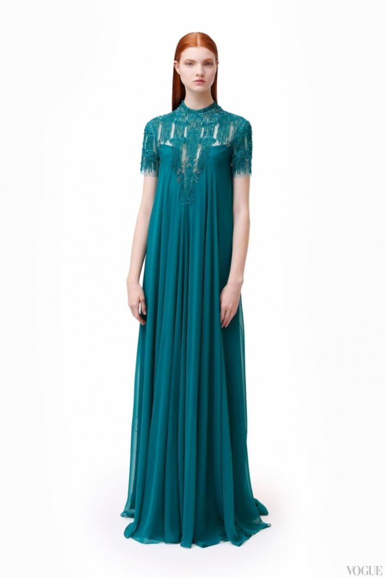 Monique Lhuillier Couture весна-лето 2013 #1